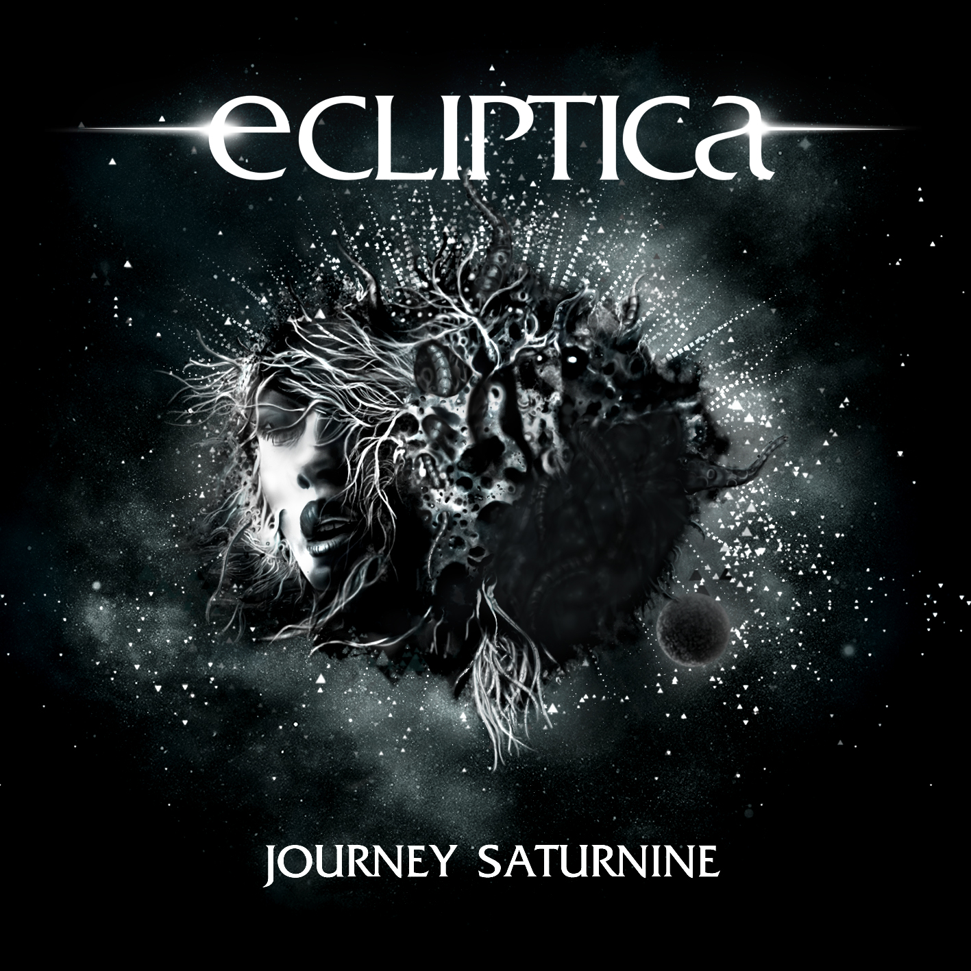 ECLIPTICA - Journey Saturnine // Album, 2012/01/09 // MMP001 // EAN: 9008798069514