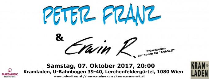 Banner_Peter Franz & Erwin R_Kramladen_171007