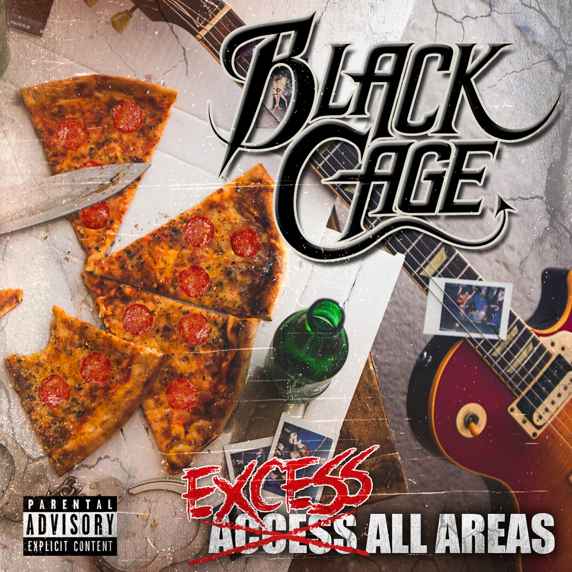 BLACK CAGE - Excess All Areas // Album, 2017/05/05 // MMP010 // EAN: 9008798231652