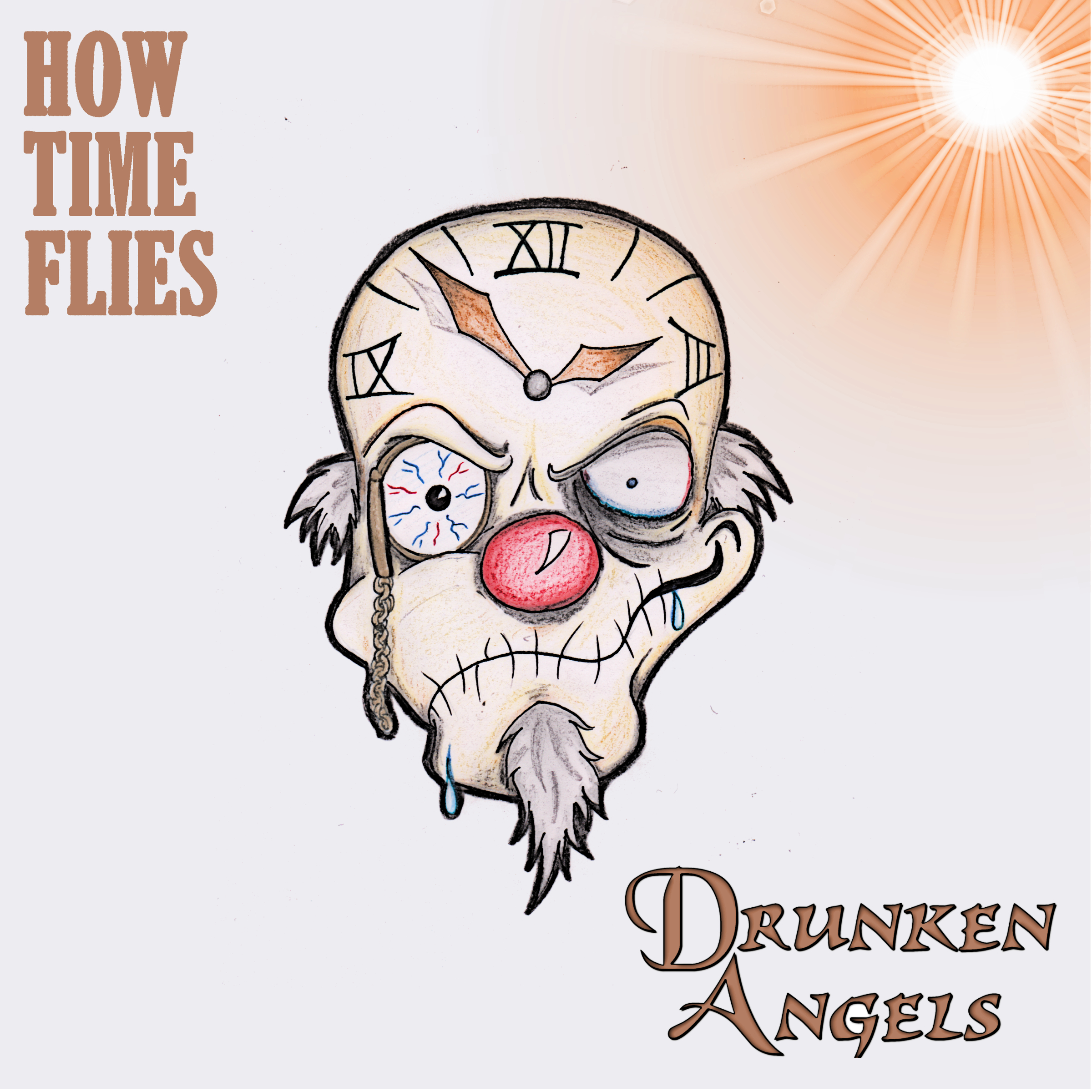DRUNKEN ANGELS - How time flies(Best of, Remastered) // Album, 2016/11/11 // MMP007 // EAN: 9008798218707