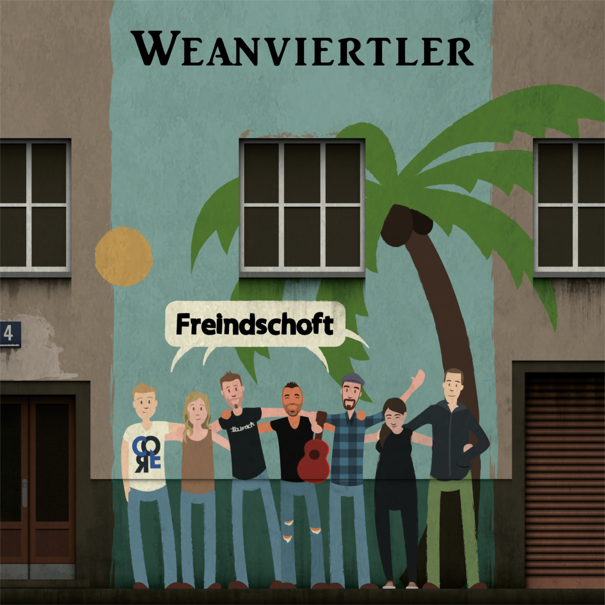 WEANVIERTLER - Freindschoft // Single, 2016/11/25 // MMP008 // EAN: 9008798222087