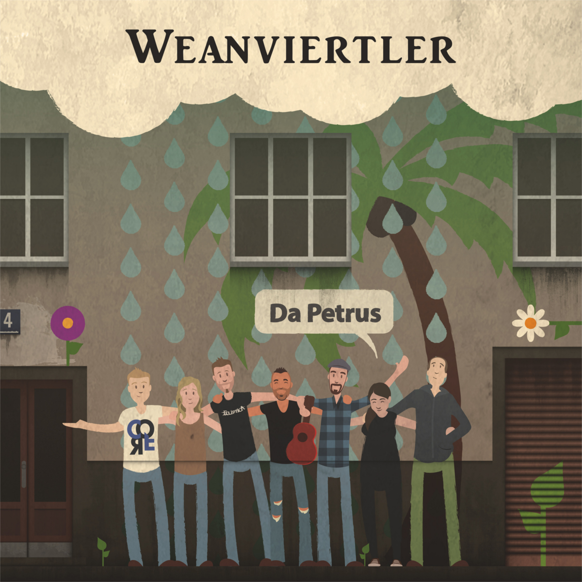 WEANVIERTLER - Da Petrus // Single, 2017/06/02 // MMP015 // EAN: 9008798234219