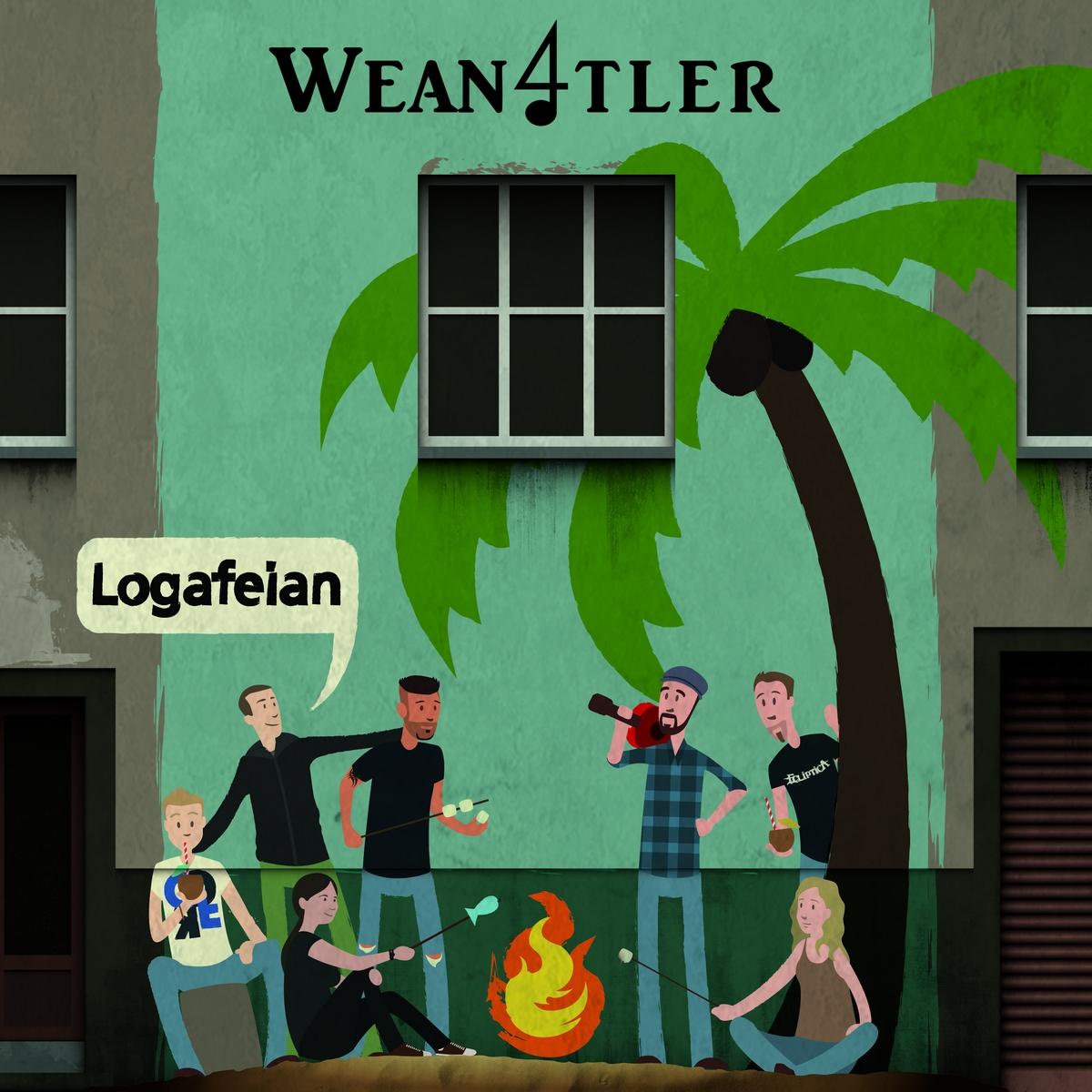 WEANVIERTLER - Logafeian // Album, 2016/06/03 // MMP006 // EAN: 9008798209545
